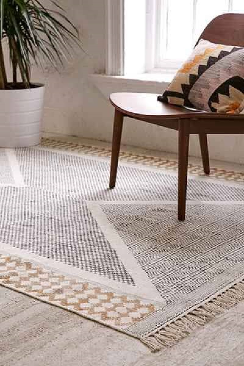 photo de tapis scandinave